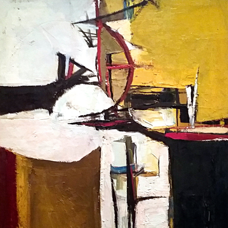 Painting by Richard Diebenkorn