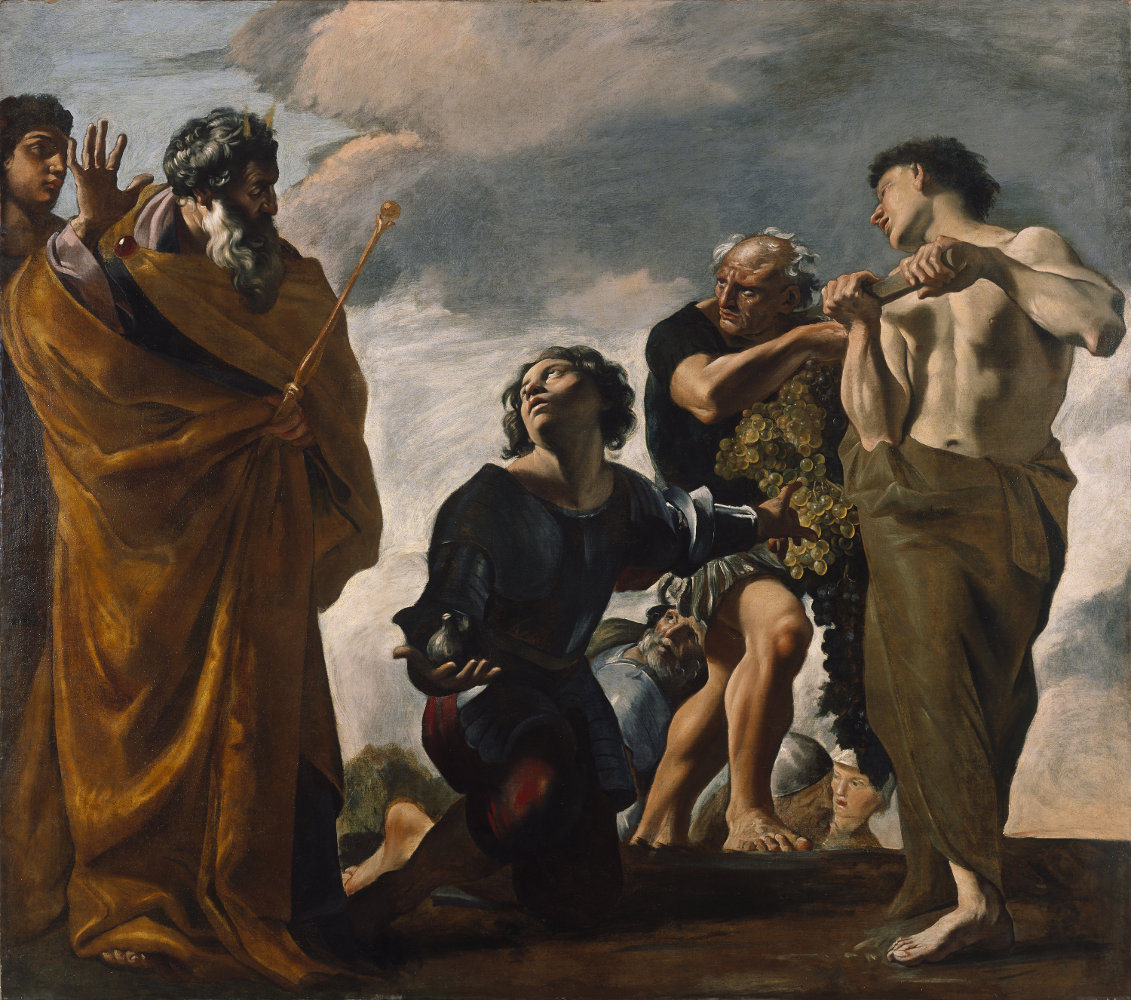 Moses and the Messengers from Canaan