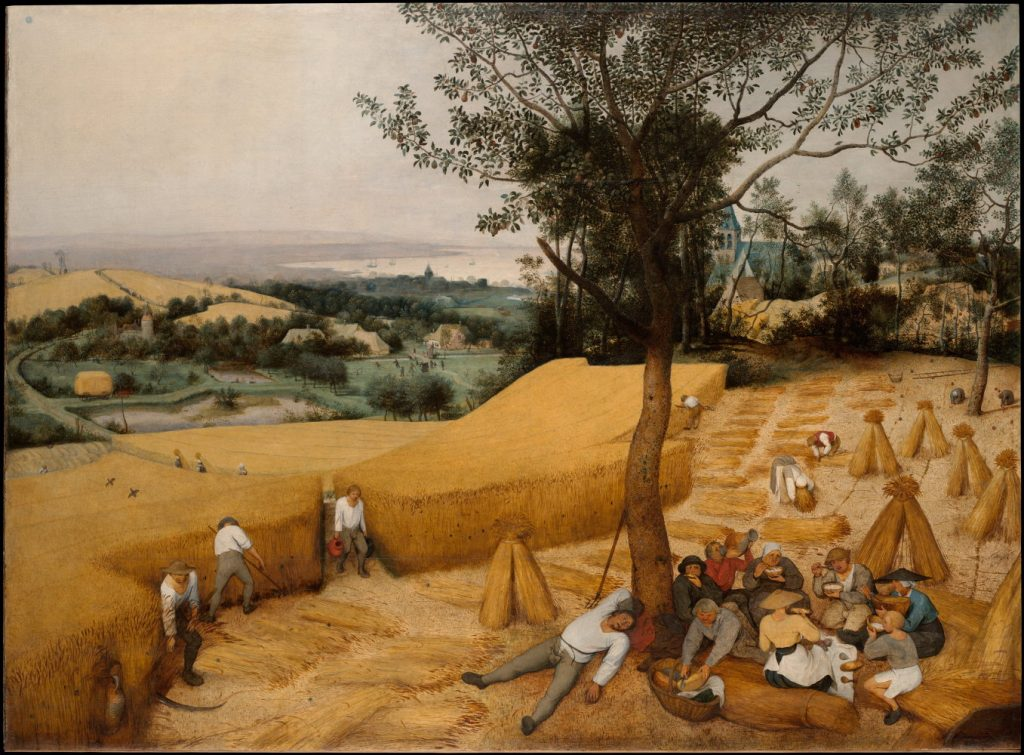 The Harvesters - Artist: Pieter Bruegel the Elder