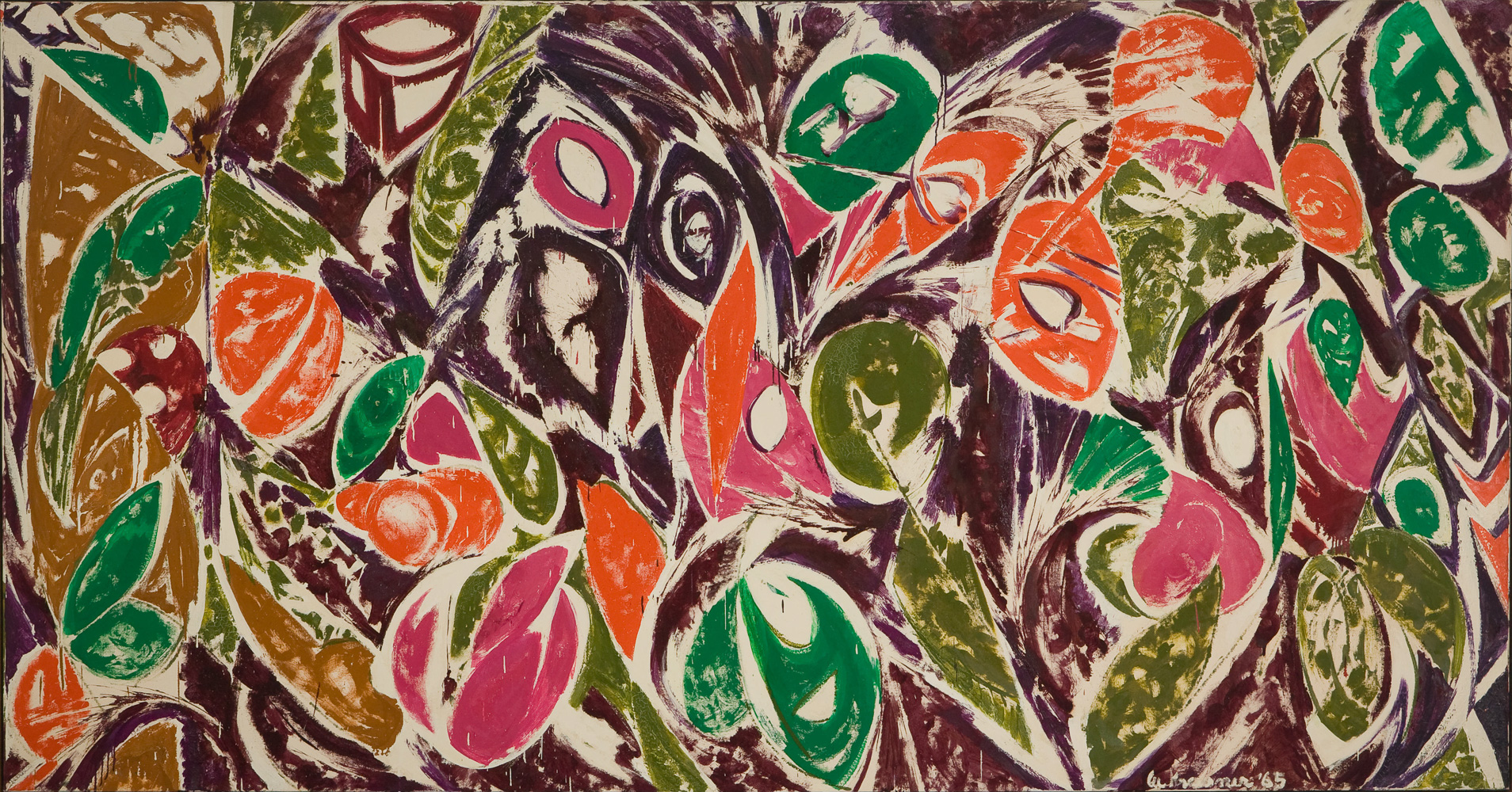 Right Bird Left by Lee Krasner